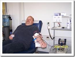 Jacek ma 52 lata i oddaje 52-ty drugi litr krwi