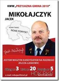 Jacek kaddyduje na radnego